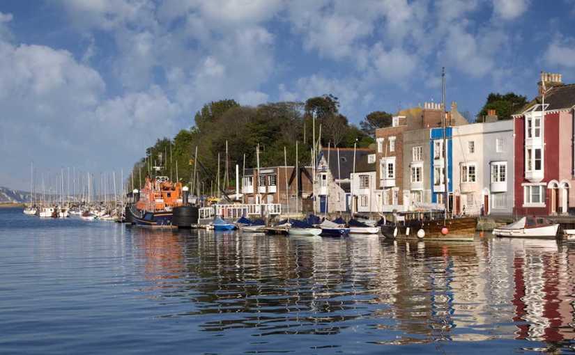 Weymouth, GB. L'anglais et lamer